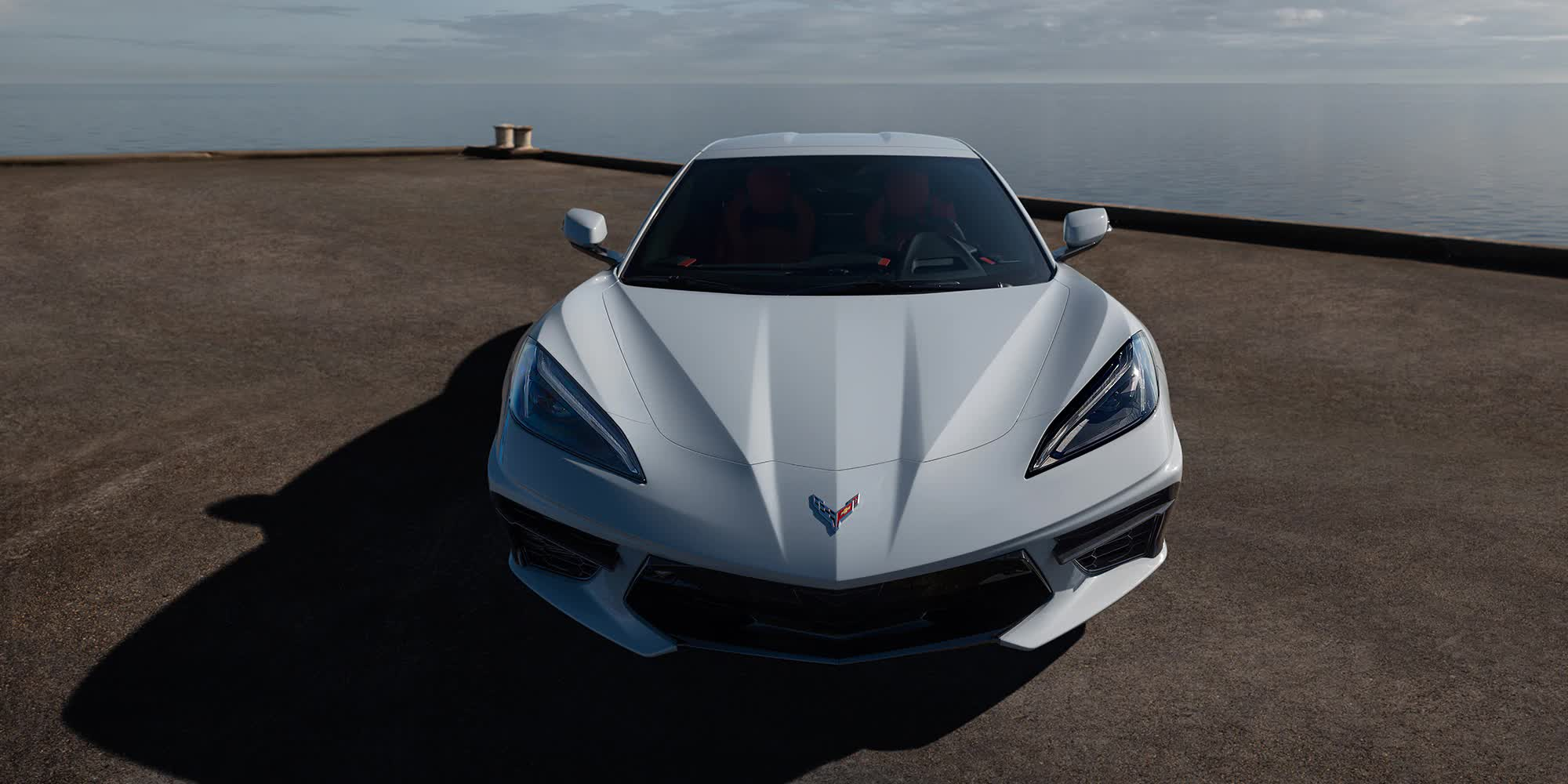 Corvette C8 Bianco