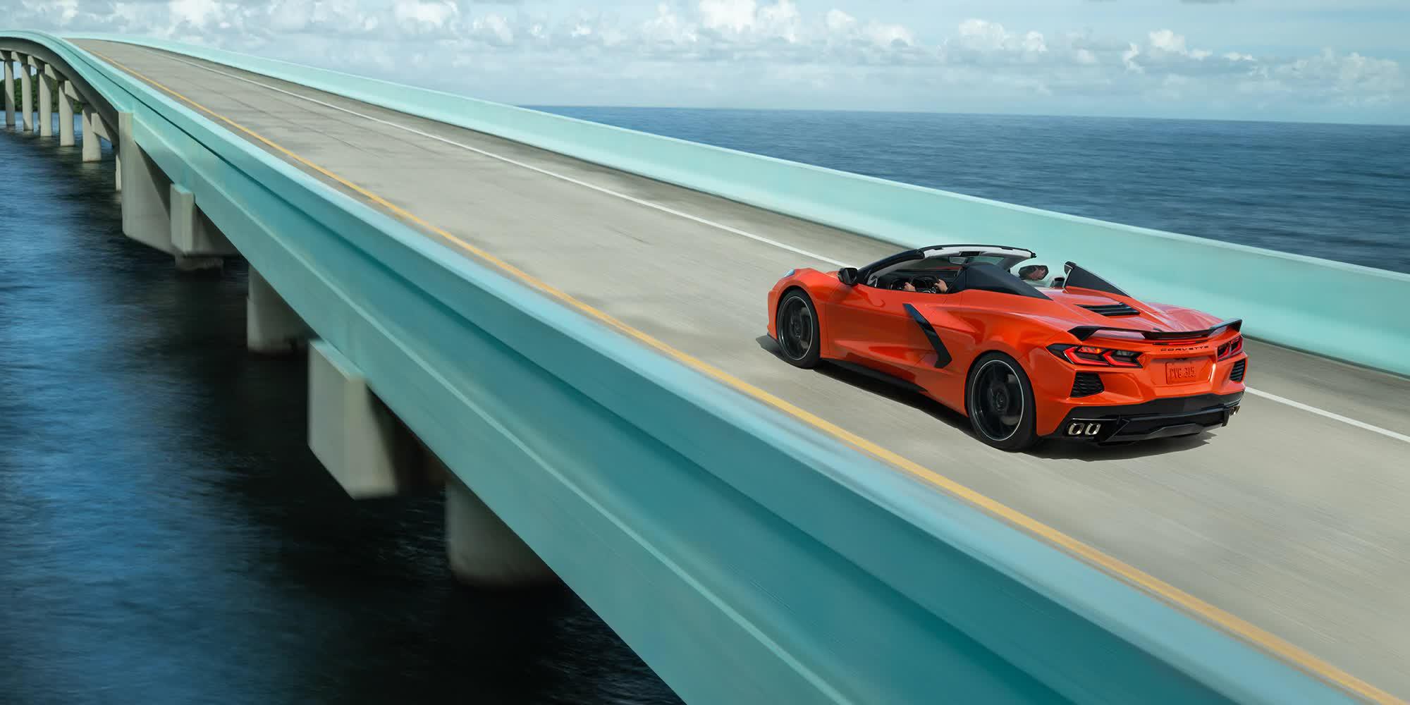 Corvette C8 Arancio