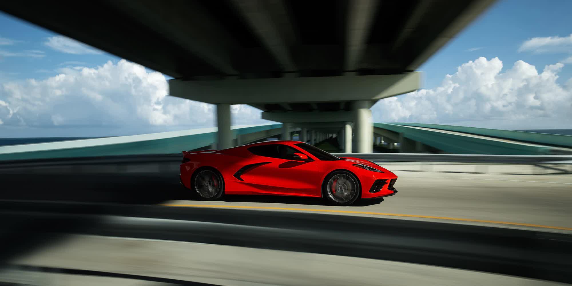 Corvette C8 Stingray Rosso