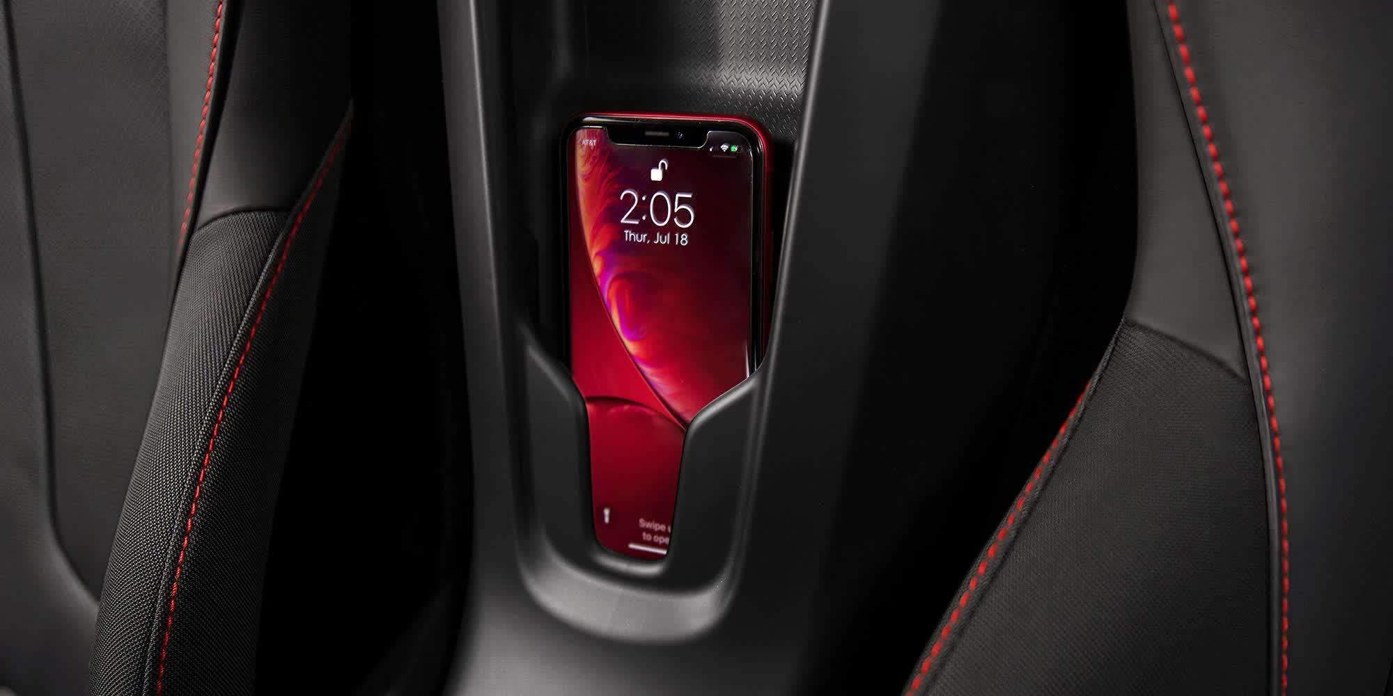 Bluetooth con associazione nfc Corvette C8
