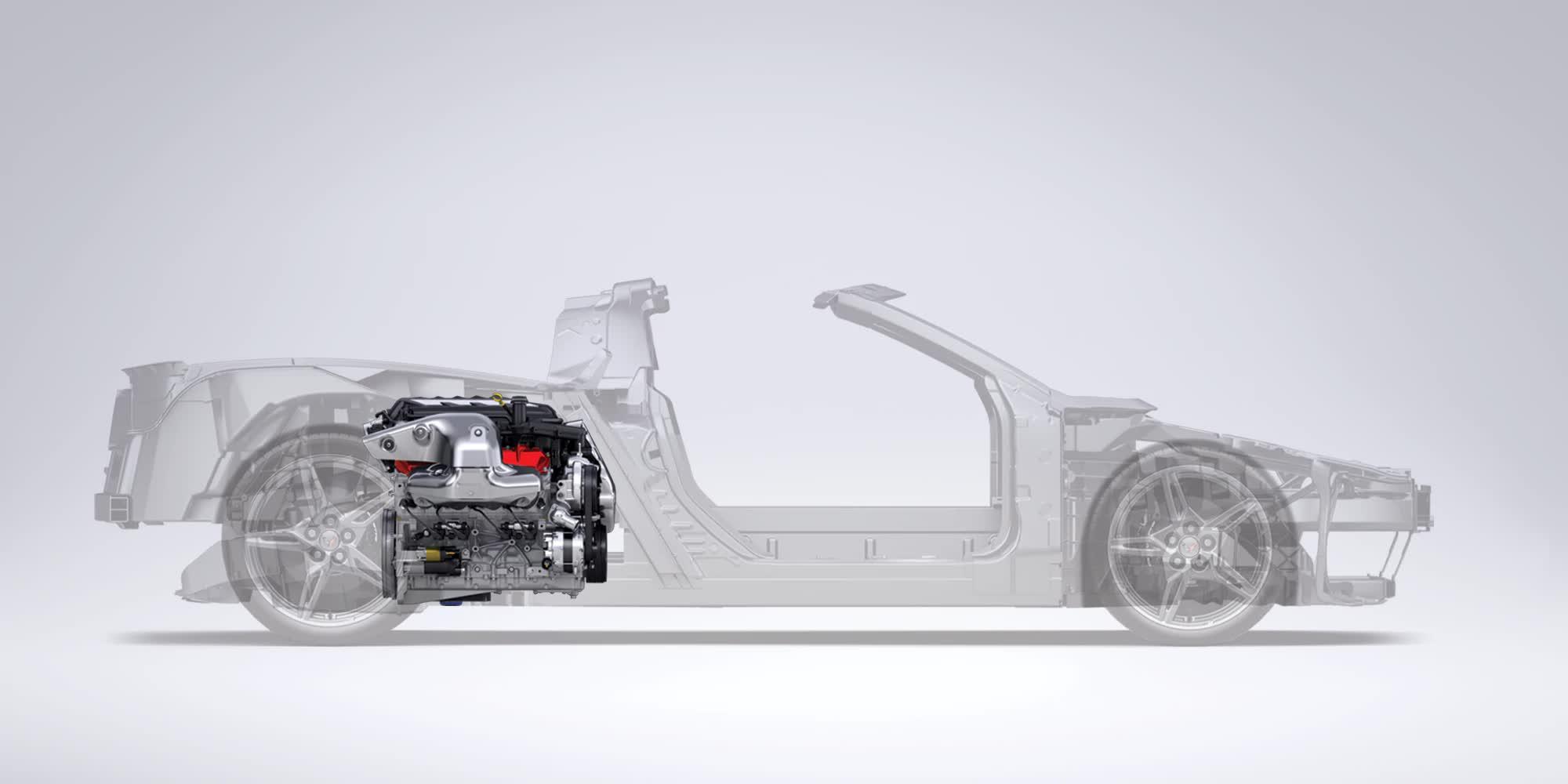 Scheletro Corvette C8