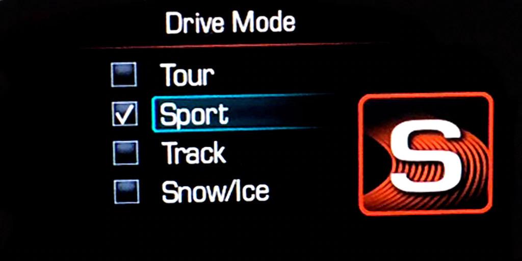 Chevrolet Italia - Camaro Drive Mode
