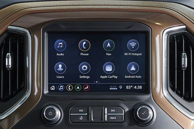 Chevrolet Italia - Silverado Infotainment