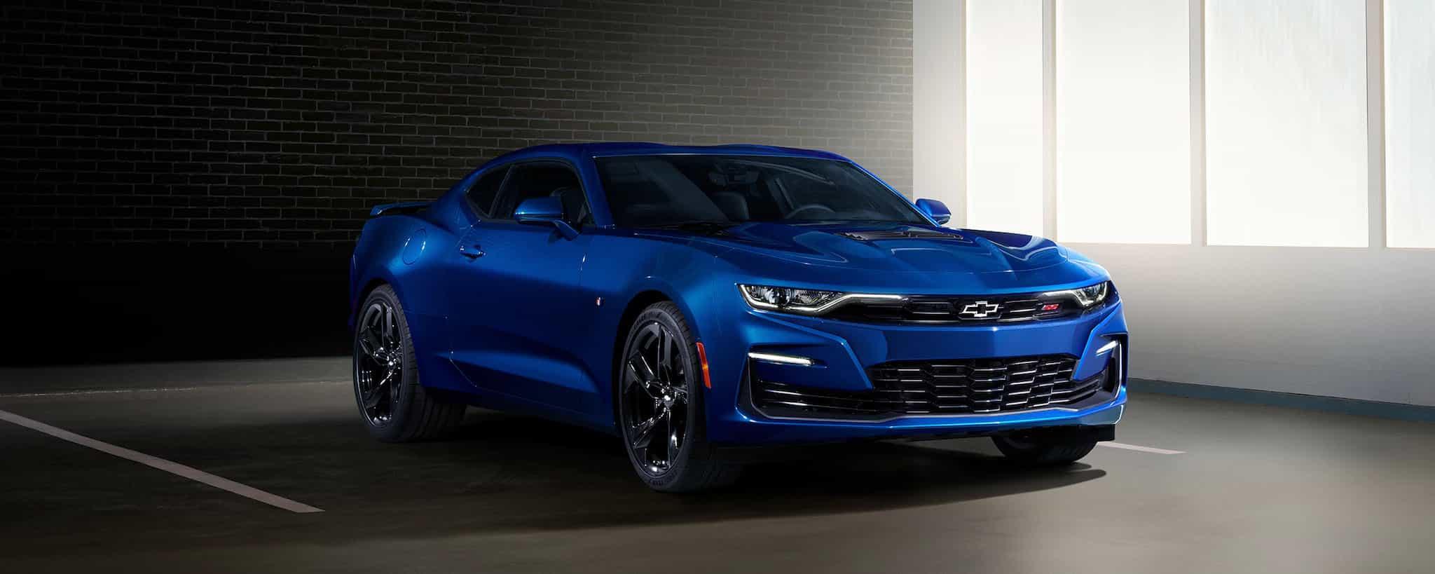 Chevrolet Camaro 2021 blu