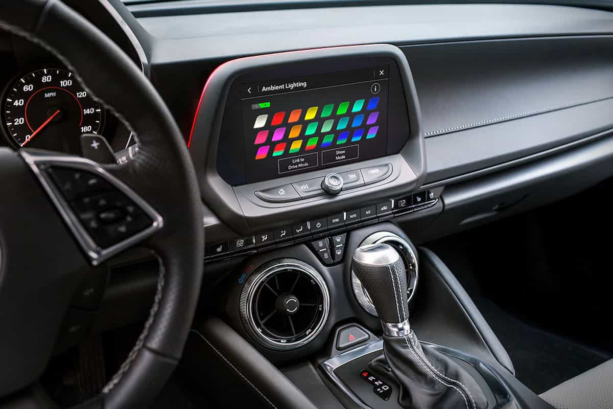 Chevrolet Camaro 2021 - Infotainment - Chevrolet Italia