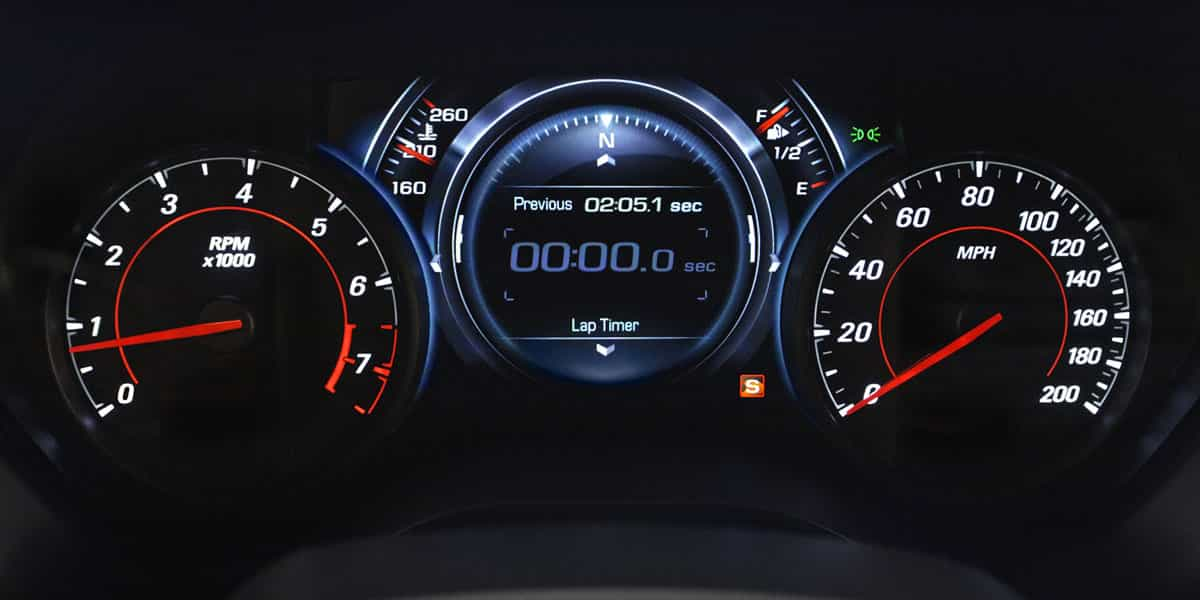 Strumentazione Chevrolet Camaro 2021
